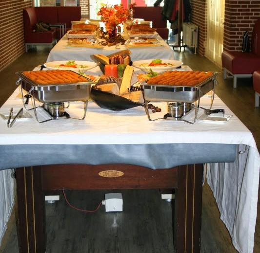 Zakelijk lunchbuffet
